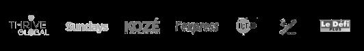 Media Logos - Bea Mangar