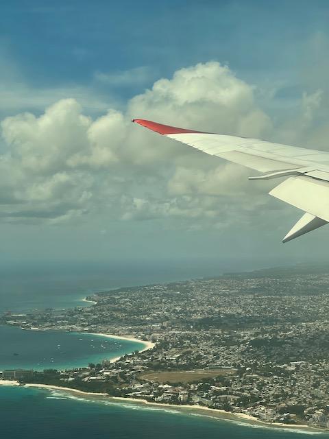 Digital Nomad Travel from U.K to Barbados